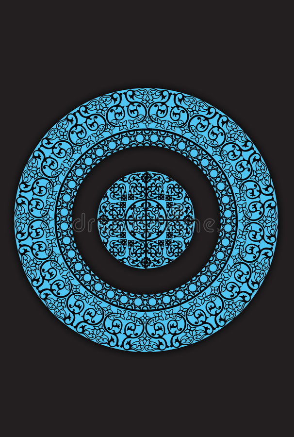 Islamic pattern02 royalty free stock images