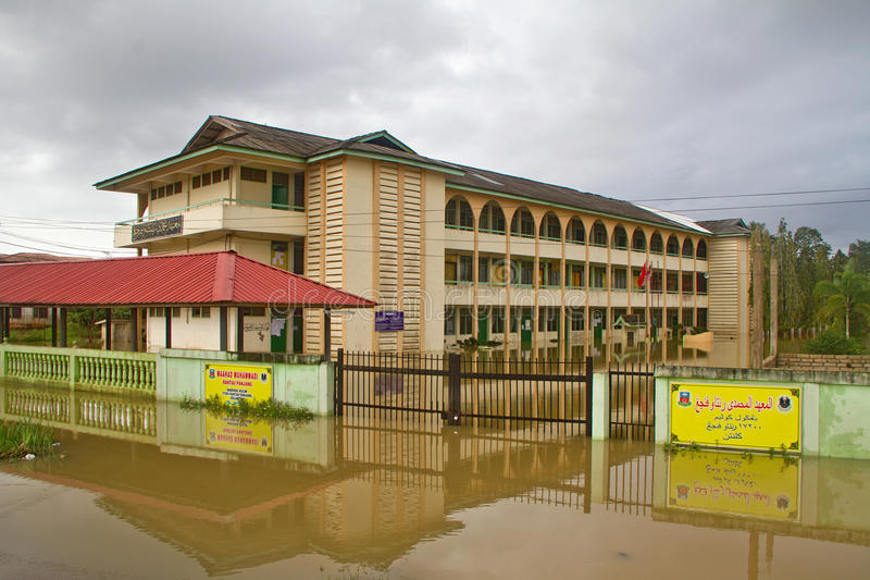 Download Islamic School in Flood editorial image. Image of november - 22269390