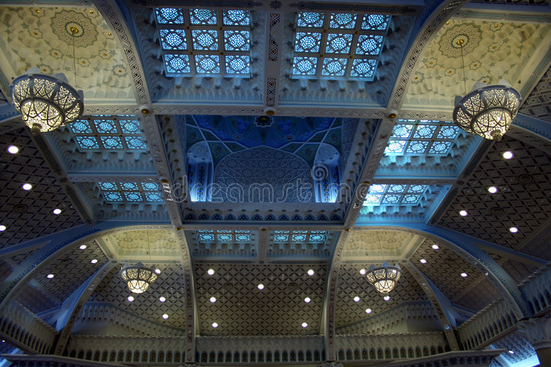 Islamic Styles Ceiling stock photography