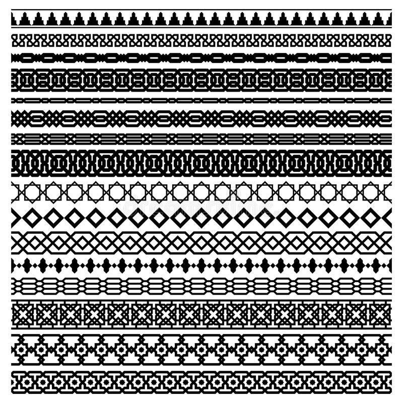 Islamic vector line border set stock vector illustration of line download islamic vector line border set stock vector illustration of line fashion 70650763 thecheapjerseys Images