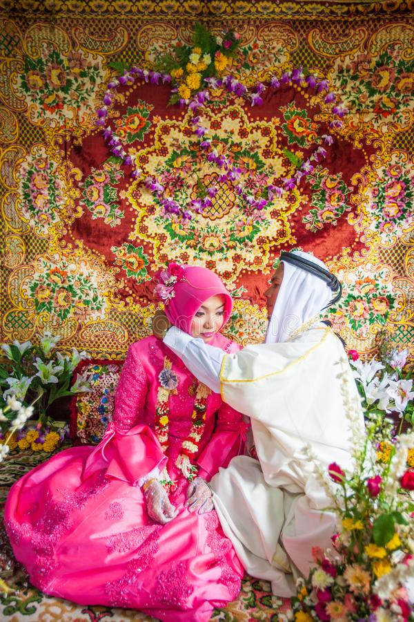 Muslim Wedding Couple Stock Images - Download 385 Royalty Free Photos