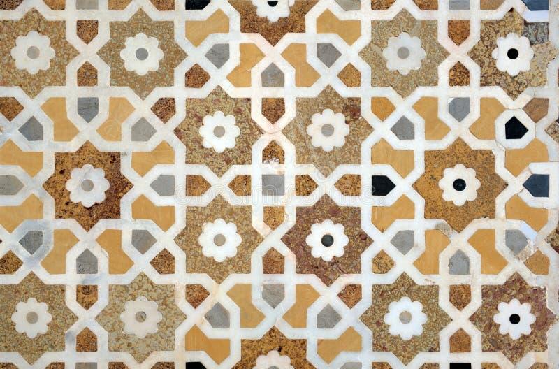 Islamisch verschachteln Sie Muster lizenzfreies stockbild