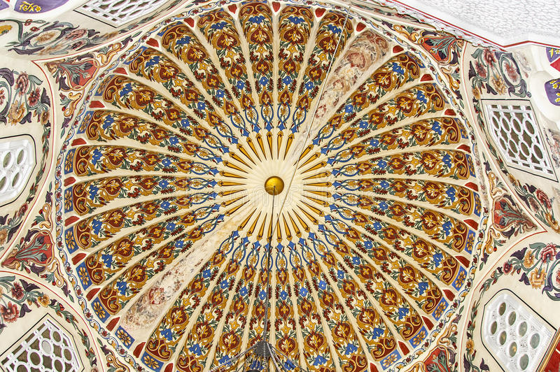 islamische Dekoration, Motiv lizenzfreie stockbilder