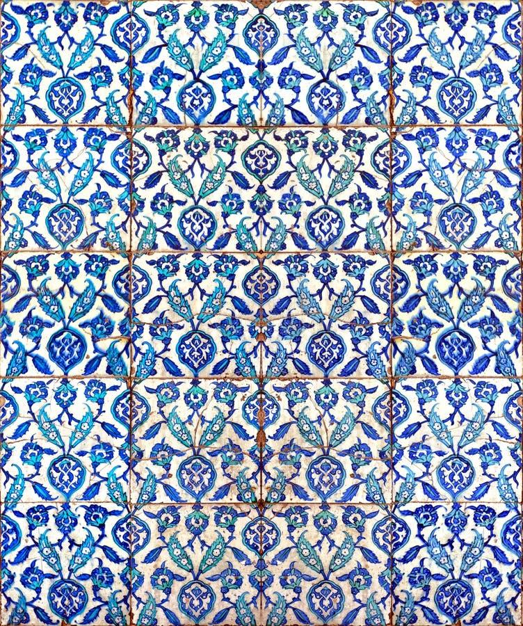 Islamische Fliesen 02 lizenzfreies stockbild