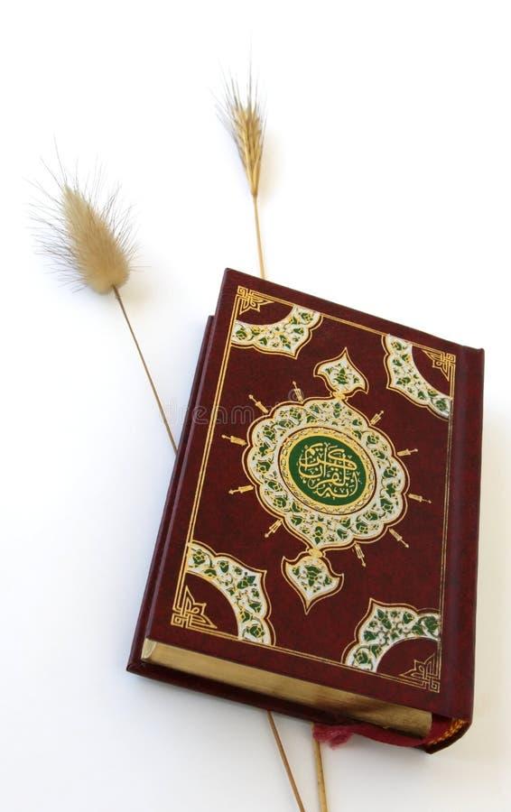 Islamische Heilige Schrift stockbild