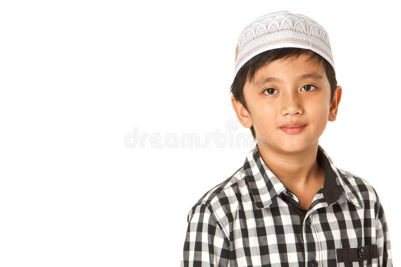Islamische Jungen lizenzfreie stockbilder