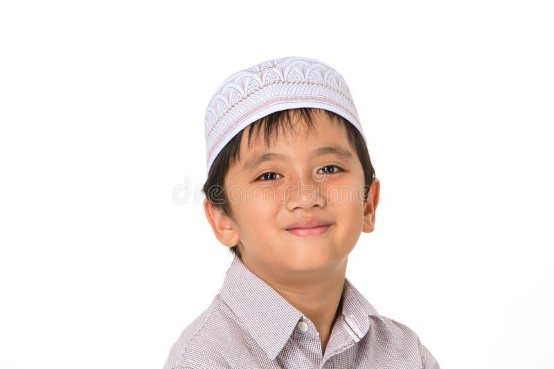 Islamische Jungen lizenzfreies stockbild