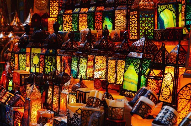 Islamische Kunst des Lichtes stockfotografie
