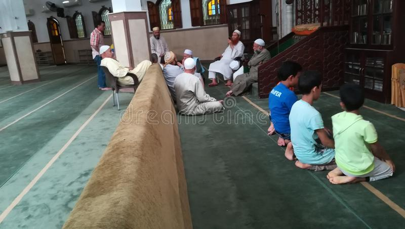 Islamische Lektion lizenzfreies stockfoto
