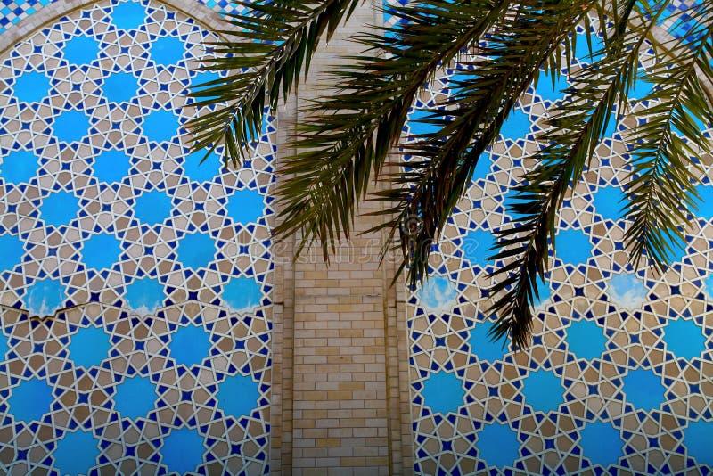 Islamischer Musterhintergrund stockfotos