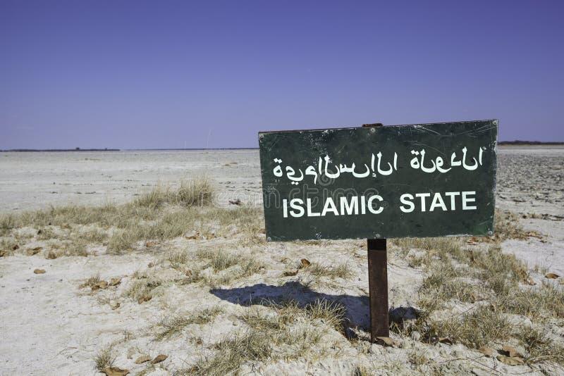 Islamischer Staat lizenzfreie stockfotos