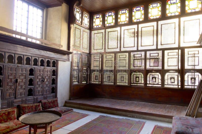 Islamisches Arthaus stockbilder