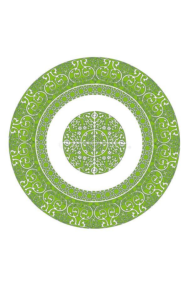 Islamisches pattern01 stockfoto