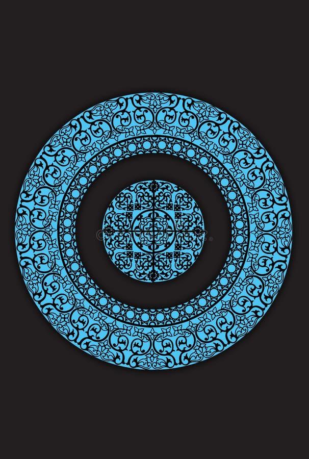 Islamisches pattern02 lizenzfreie stockbilder