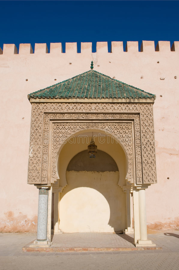 islamisk arkitektur arkivfoton