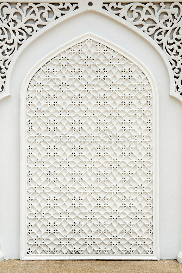 islamisk design fotografering för bildbyråer
