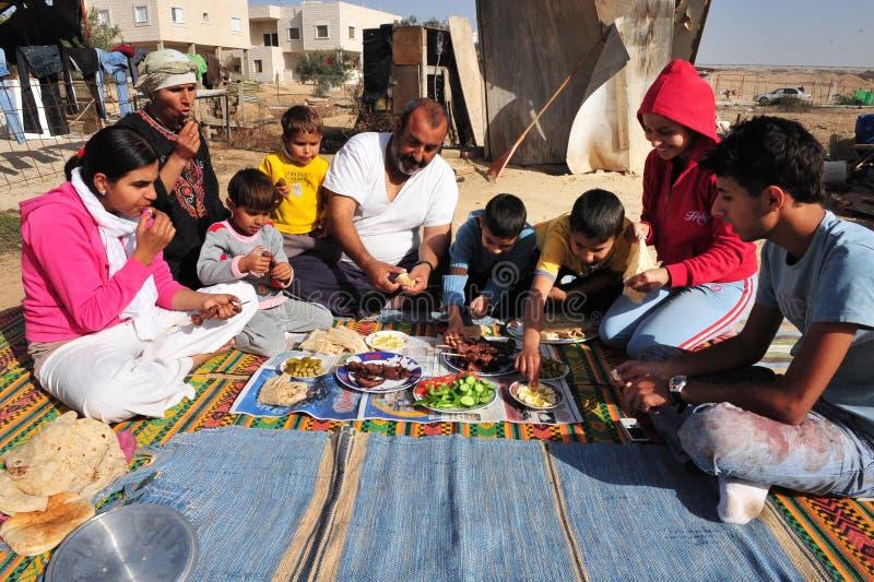 Islamisk ferie - festmåltid av offret royaltyfri fotografi