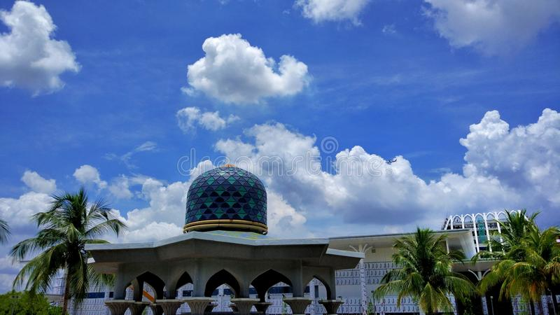 Islamisk monument royaltyfri fotografi