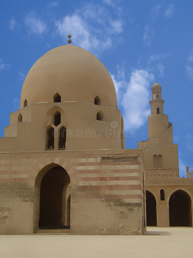 Islamisk moské royaltyfri bild