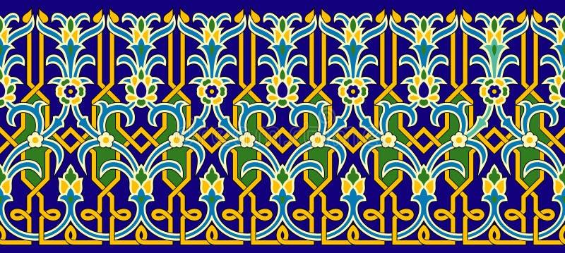islamisk räkning stock illustrationer