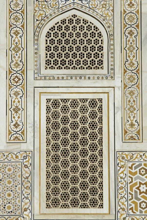 islamiskt fönster royaltyfria foton