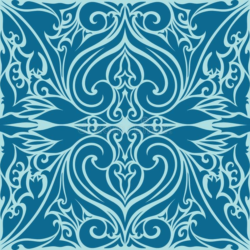 Islamitisch Art Ornaments Pattern royalty-vrije illustratie