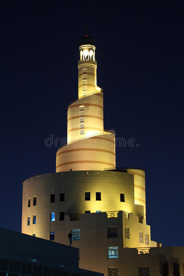 Islamitisch Centrum Fanar in Doha, Qatar stock foto
