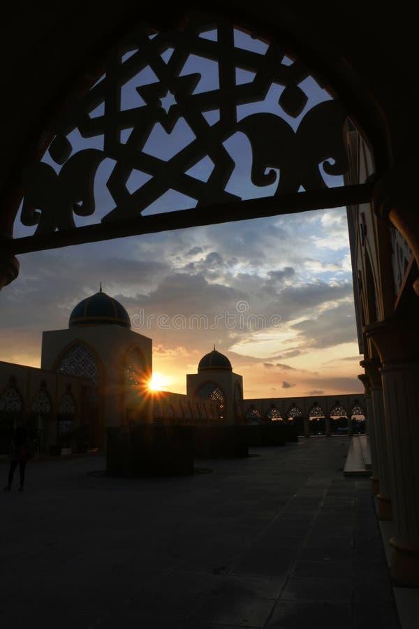 Islamitisch Centrum Mataram Lombok stock foto's