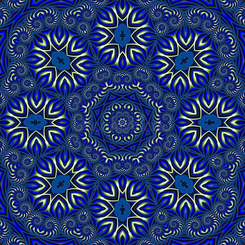 Islamitisch geïnspireerd behang stock illustratie