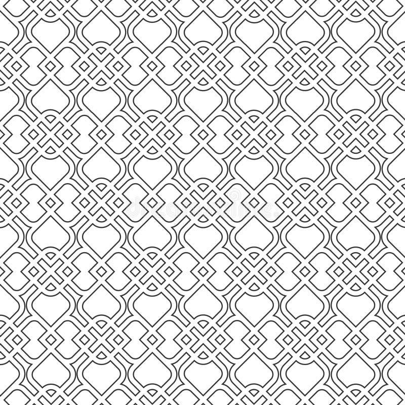 Islamitisch gevoelig patroon. vector illustratie