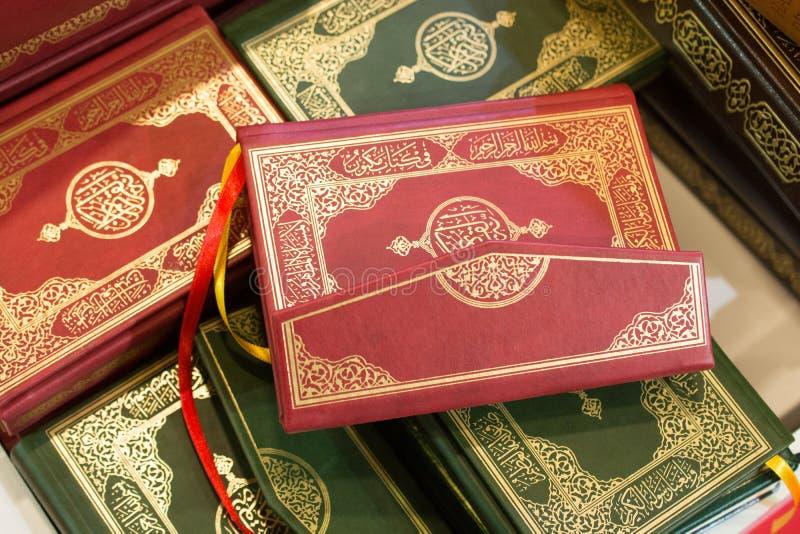 Islamitisch Heilig Boek Quran stock foto