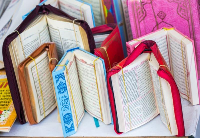 Islamitisch Heilig Boek Quran stock afbeelding