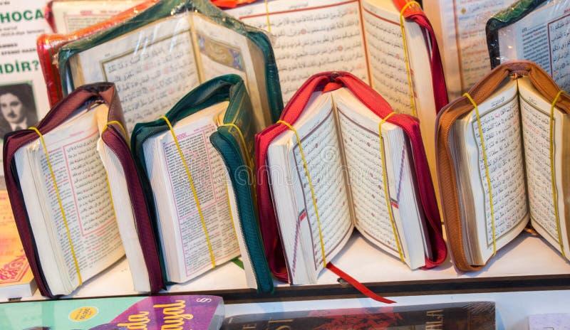 Islamitisch Heilig Boek Quran stock foto's
