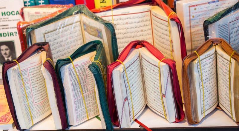 Islamitisch Heilig Boek Quran stock fotografie