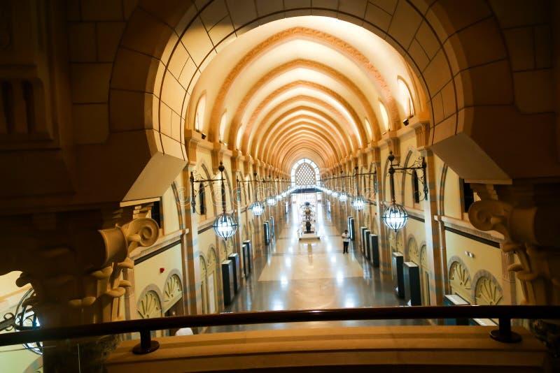Islamitisch Kunstenmuseum - Sharjah stock afbeeldingen