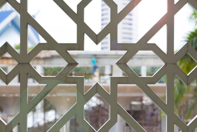 Islamitisch moskeeontwerp royalty-vrije stock foto