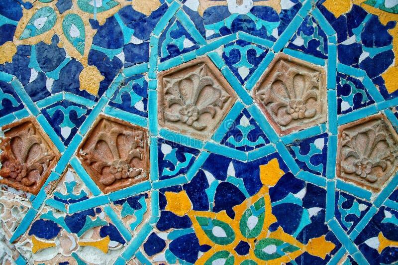 Islamitisch mozaïekpatroon royalty-vrije stock foto