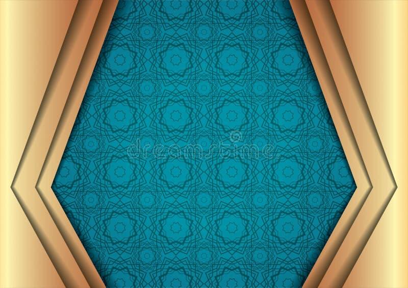 Islamitisch Ontwerp van Eid Kareem stock illustratie