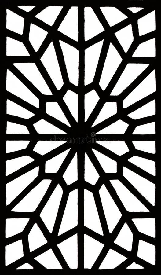 Islamitisch patroon stock illustratie