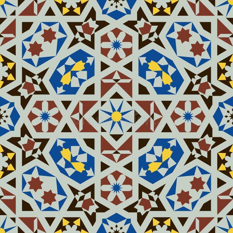 Islamitisch vormen naadloos patroon royalty-vrije stock foto
