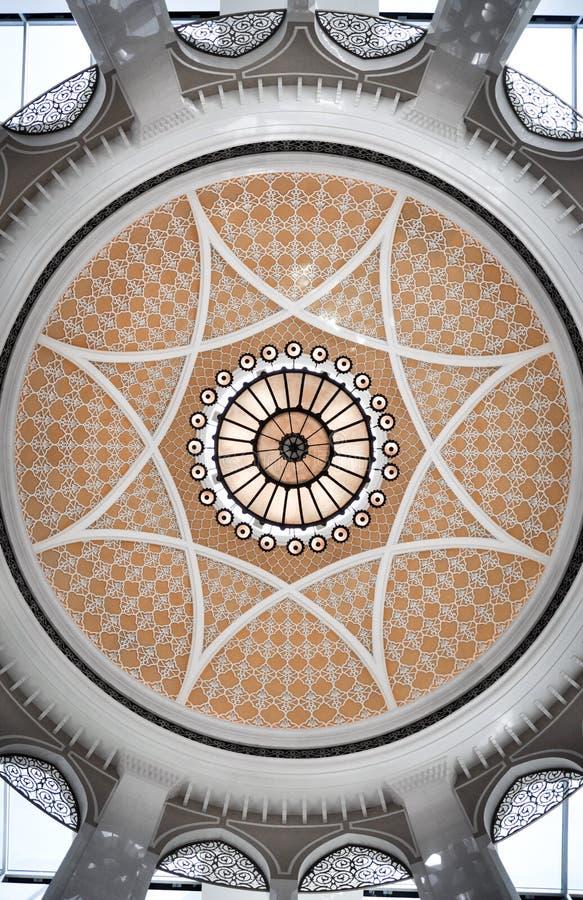 Islamitische Architectuur de Koepel royalty-vrije stock afbeeldingen