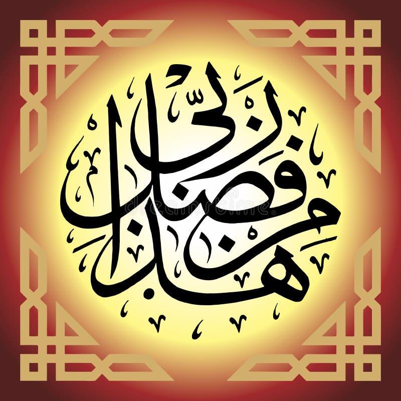 Islamitische behanghaza min fazlerabi royalty-vrije stock fotografie