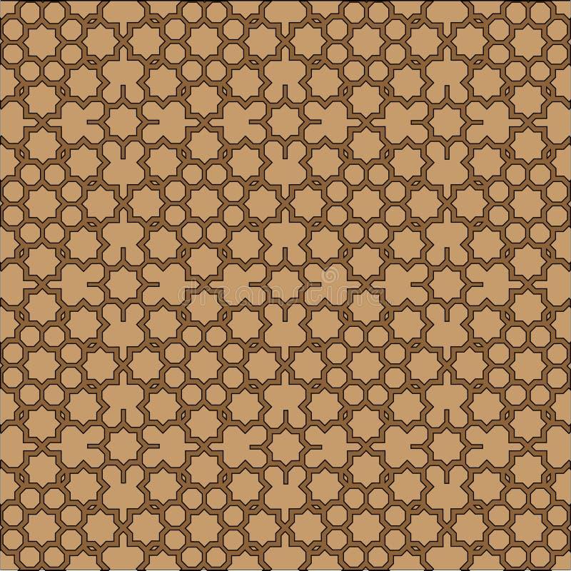 Islamitische geometrische achtergrond. vector illustratie
