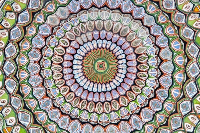 Islamitische geometrische patronen stock foto