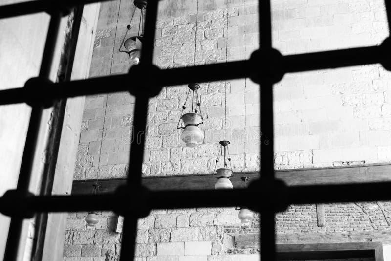 Islamitische kunst in Egypte royalty-vrije stock afbeelding