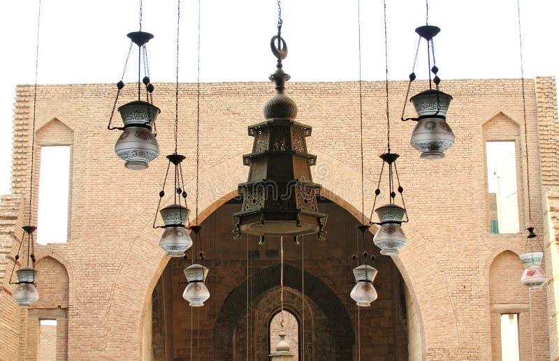 Islamitische kunst in Egypte royalty-vrije stock afbeeldingen