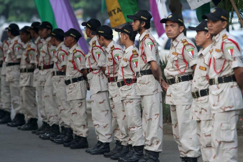 Islamitische massaorganisatie royalty-vrije stock foto