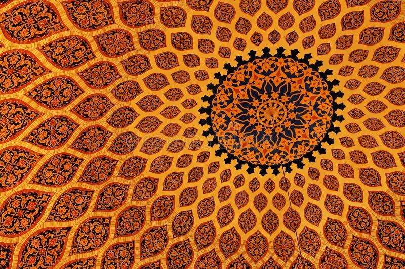 Islamitische textuur stock foto