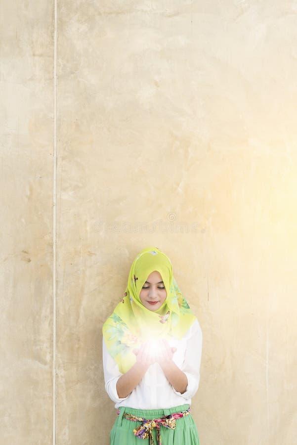 Islamkvinna royaltyfri foto