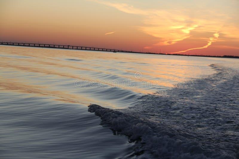 Islamorada, ηλιοβασίλεμα ΙΙ της Φλώριδας στοκ εικόνα με δικαίωμα ελεύθερης χρήσης